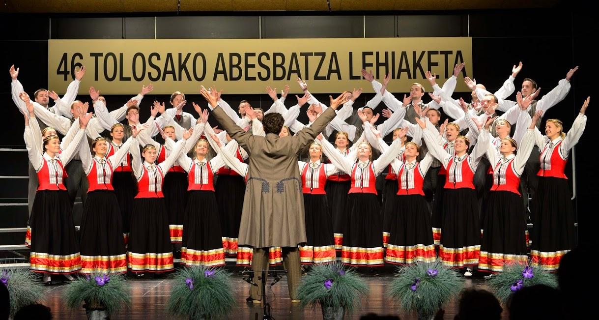 """Jauniešu kora """"Maska"""" koncerti Basku zemē tiek uzņemti ar ovācijām, Tolosas konkursā izcīnīta augstā 2. vieta"""